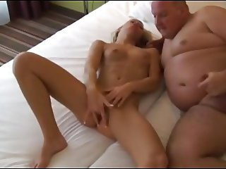 porky fun with bald beauty