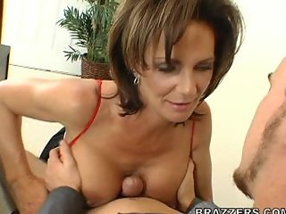 Boy enjoys MILF