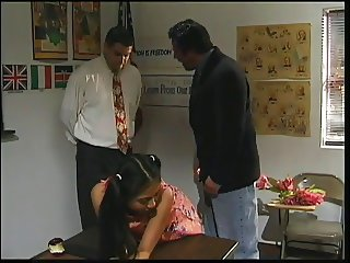 Horny pupil fucking favourite teacher