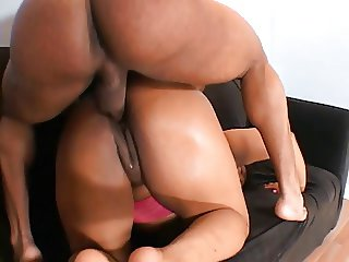 Big tits MILF banged by a young hard cock