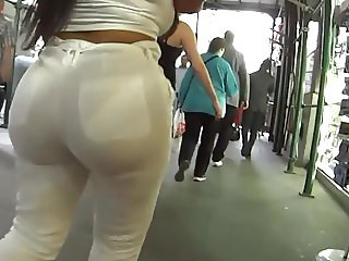 hot white pants