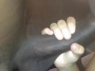 Amateur Girl Taking A Big Black Uncut Dick