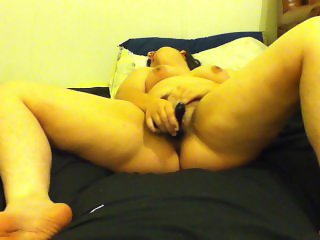 Teen With Glass Dildo