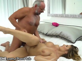 21Sextreme Grandpa gets Big Tits Young Babe