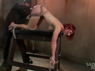 The Pope brutally Tortures newcomer, Sophia Locke
