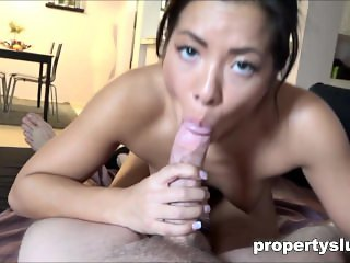 Stealing Propertyslut fucked by the LandLord