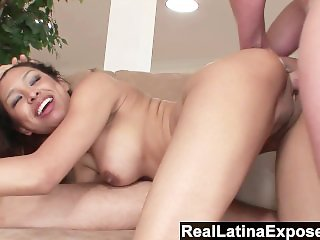 RealLatinaExposed - Latina maid prefers a wild dp to cleaning chores
