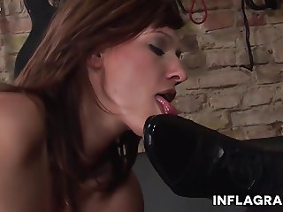 German Redhead Fetish Mistress