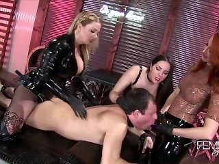 Alexandra Snow, Kendra James, Lexi Sindel - Femdom All-Star
