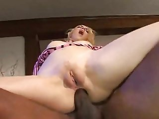 2 Blonde Babes Fucked by BBC