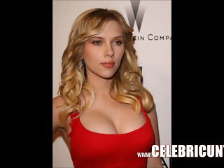 Stunning Scarlett Johansson Bare Flaunting Juicy Tits & Pussy HD