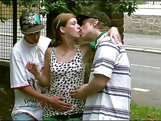 Extreme PUBLIC street sex with teen Alexis Crystal AKA Anouk