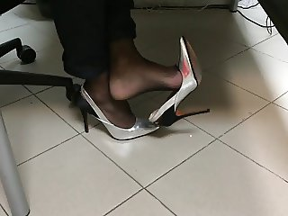 Heels at the office