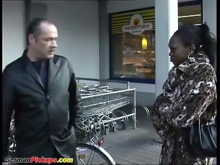 african babe picked up from street