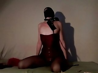 BDSM NIGHT - TIED UP, SLAPPED AND THROAT FUCKED