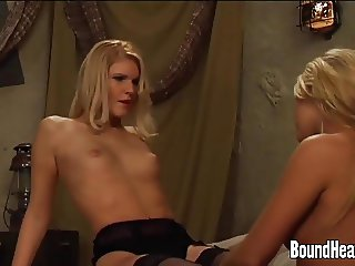 Pure Love Between Lesbian Mistress And Young Slave