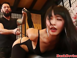 Asian bdsm amateur Marica Hase roughly fucked