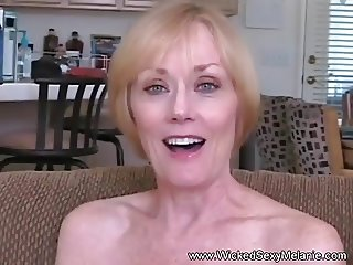 Blowjob Fuck and Facial For Grandma