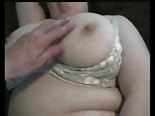 BBW Wife, testing a new vibrator with a friend