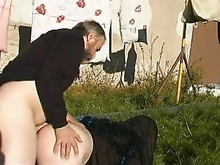 Horny OLD MAN fucks YOUNG CHICK 08