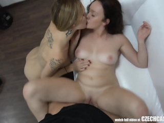 Czech Casting - First Threesome in Her Life
