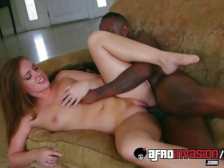 Maddy O`Reilly got drilled by a black dick