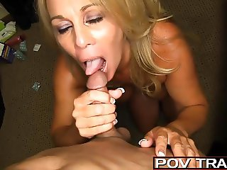 Sexy older Milf Fucks 5 younger inlaws