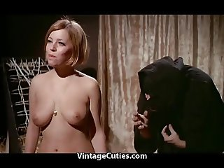 Innocent Redhead Humiliated in a Dungeon (1960s Vintage)