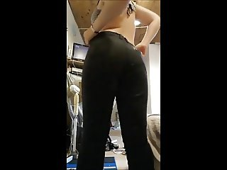 her sexy body