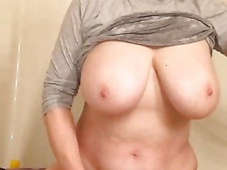 Grandma masturbates and cums like no other by MarieRocks