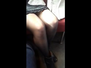 Sexy Foreign Girl On The Train