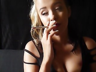 Smoking Hottie