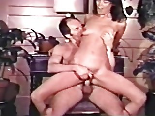 Hot Vintage College Girl & Older Guy