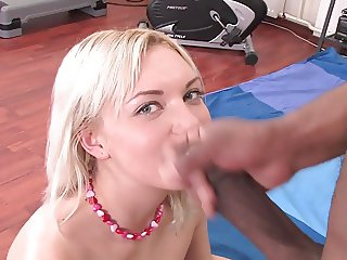 First Timer Opens Pussy For Black Cock
