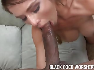 Nothing gets me wetter than big black cock