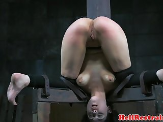 Whipped Audrey Noir punished roughly