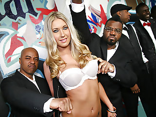 Alysha Rylee Ganbanged By 10 Black Cocks