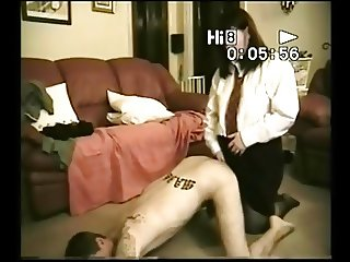 Collage women lubes guys ass and pumps srapon cock in