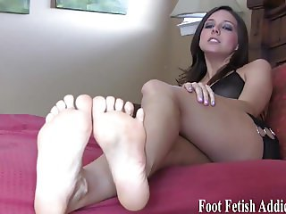 I know all about your little foot fetish