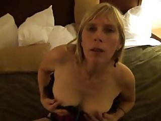 Horny Wife Krystal looks for some hard cock
