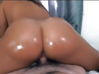 Thick asian teasing and riding pt 1
