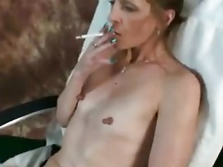 Flat tits Milf with huge nipples