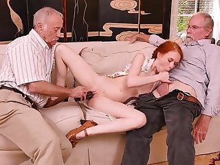 MATURE OLD MEN ORGY