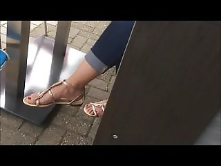 spyshot hidden cam off sexy naked feet red toes