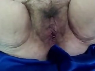 Hairy BBW Mature Gives and Receives Head