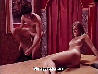 New Amateur Girl Fucks Like a Pro (1960s Vintage)