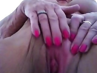 Big Titty Granny Playing With Herself
