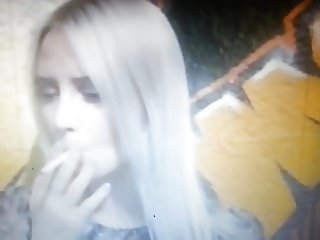 Laila, German blonde singer sweet smoking 2