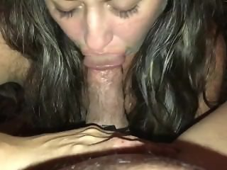 Hot blowjob by wife!
