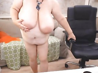 Mature BBW private show